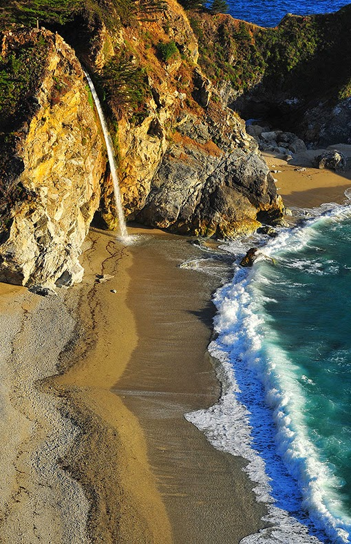McWay Falls at Big Sur, California.