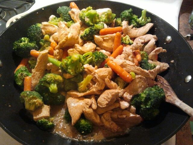 17 Day Diet Gal: Chicken Stir Fry (C1)