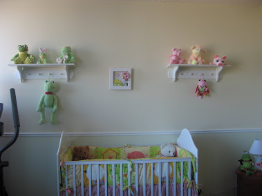 The baby room for a child coming from China