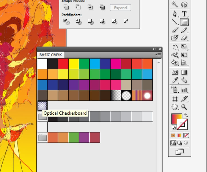 how to use paint bucket in illustrator