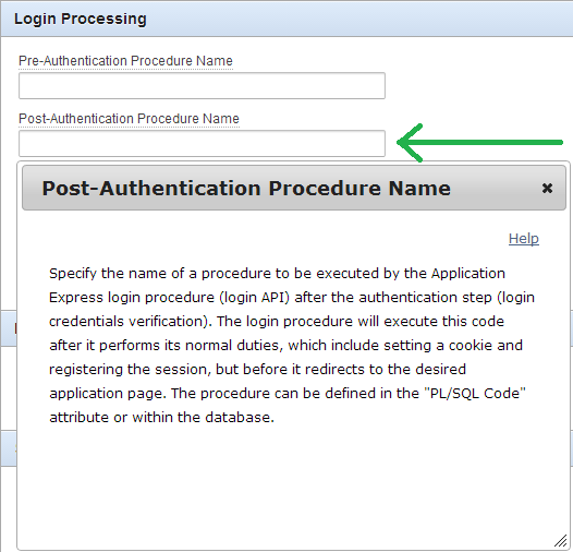 how to set session once user logs in