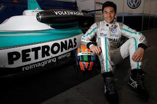 Jazeman Jaafar With His British F3 Car