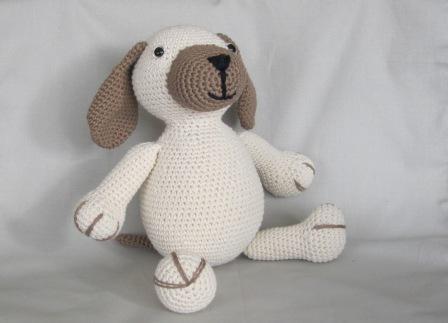 Amigurumis Perros Paso A Paso : Bigunki amigurumis y ganchillo: perrito bueno no tan pequeño