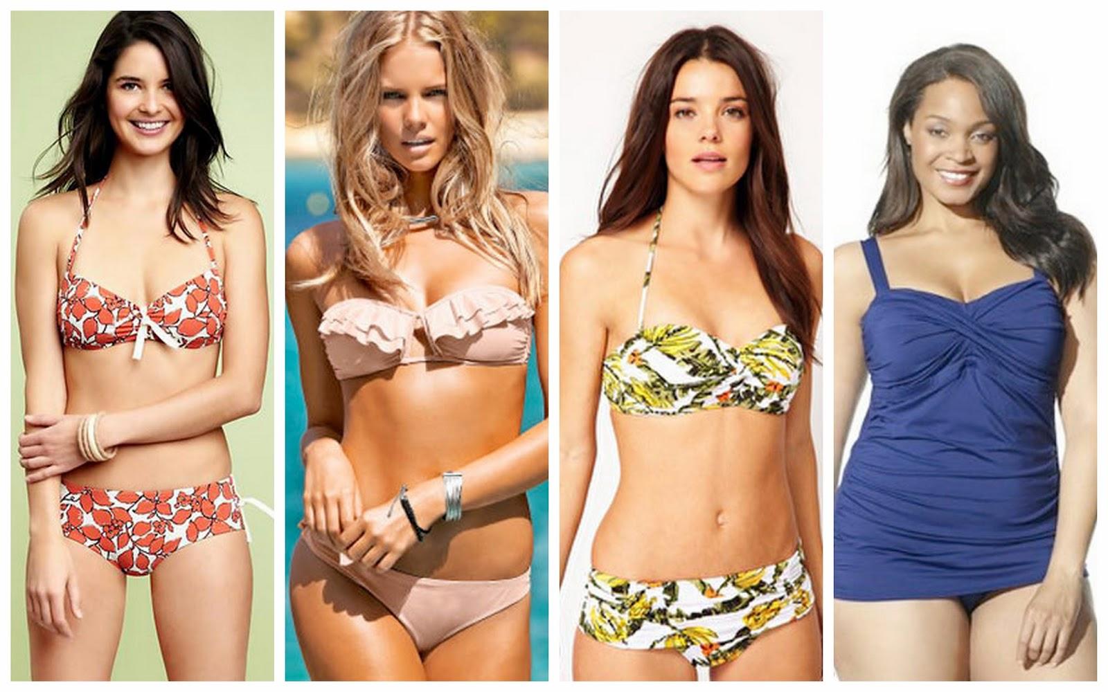 Encuéntra el mejor traje de baño dependiendo de tu tipo de cuerpo ...