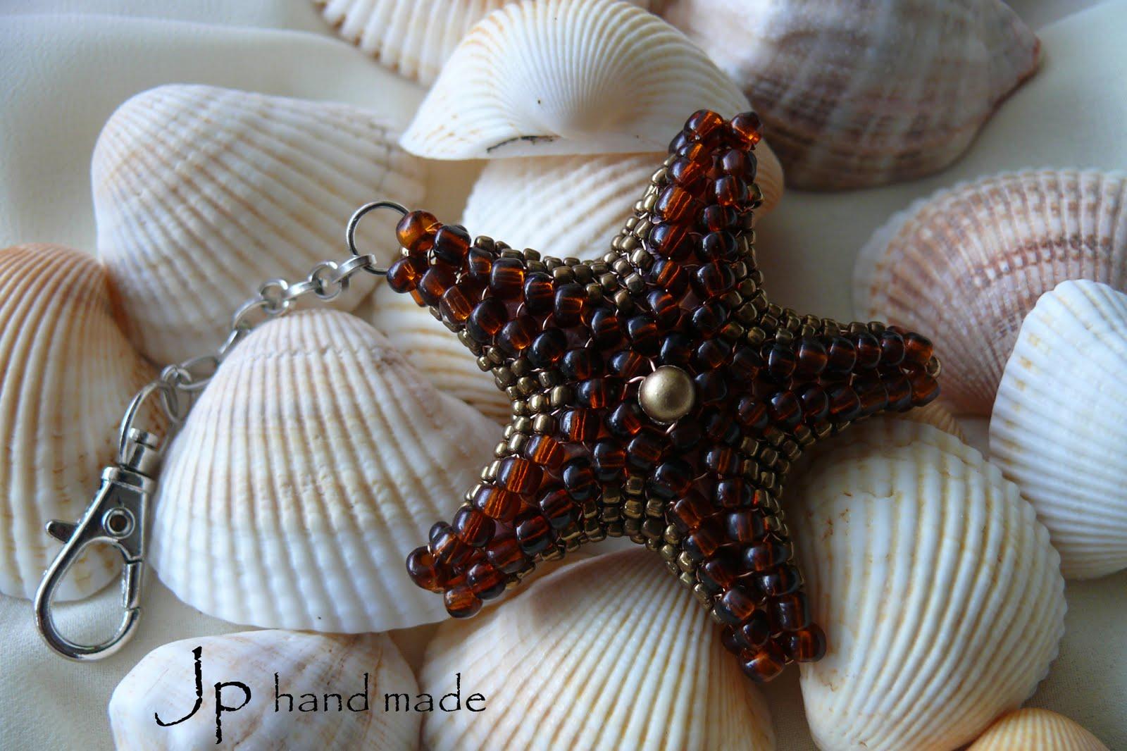 Морская звезда из бисера как сделать