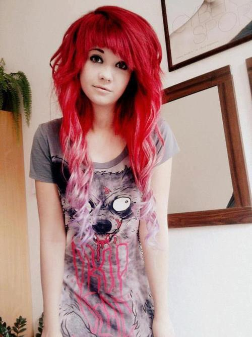 Emo Lifestyle: Emo Girl - Red Hair