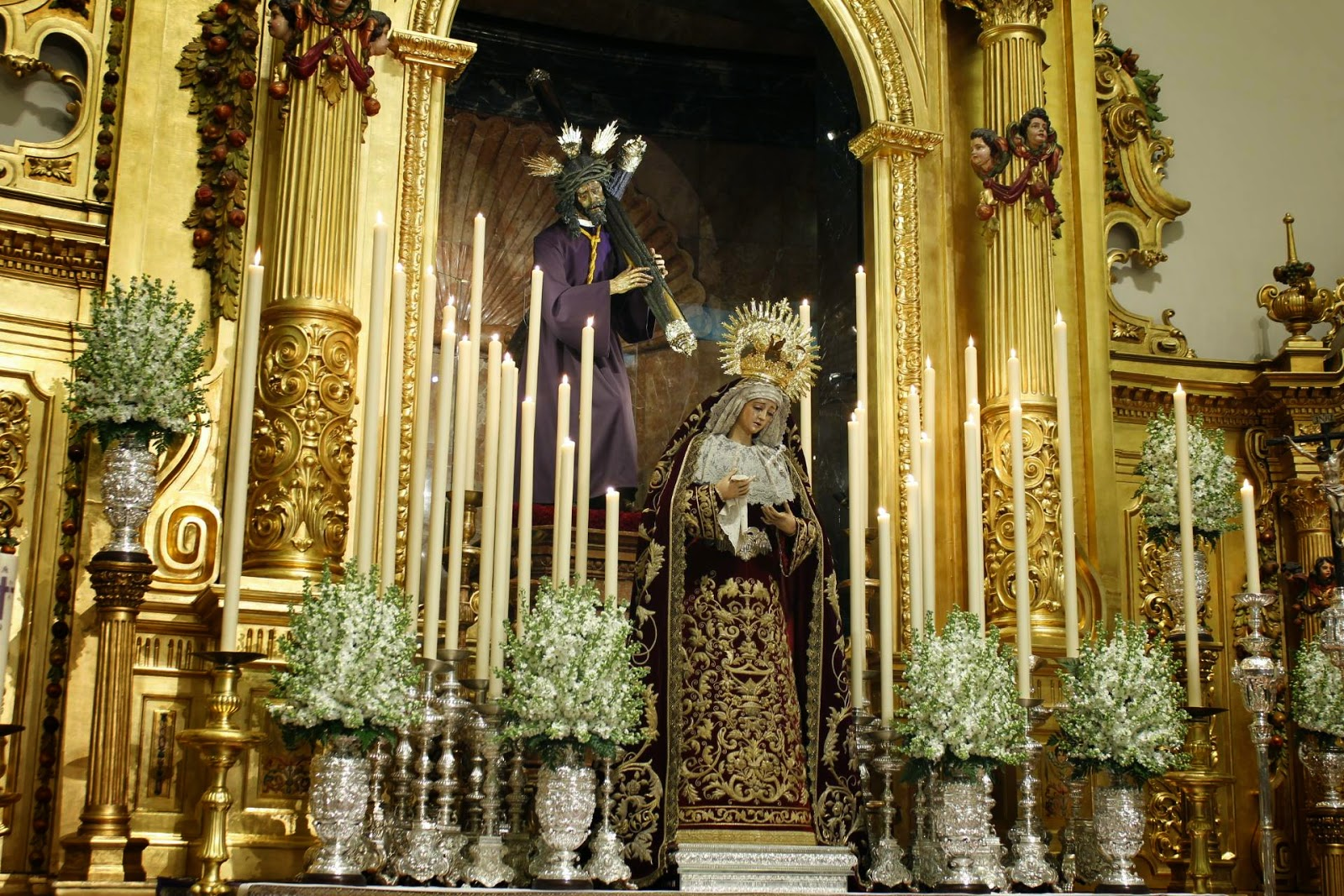 Besamanos de la Virgen del Mayor Dolor y Traspaso de la Hermandad del Gran Poder 2015
