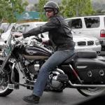 Jim carrey celeb on motorcycles