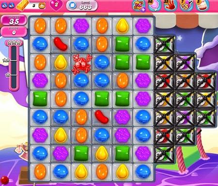 Candy Crush Saga 663