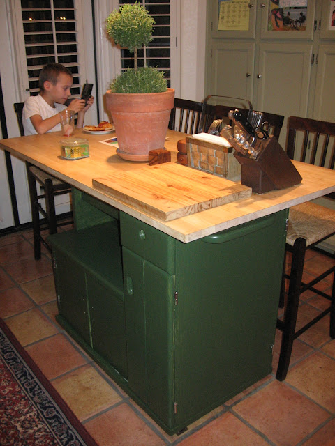 Dusty Coyote Turning A Kitchen Cart Into A Table Kitchen