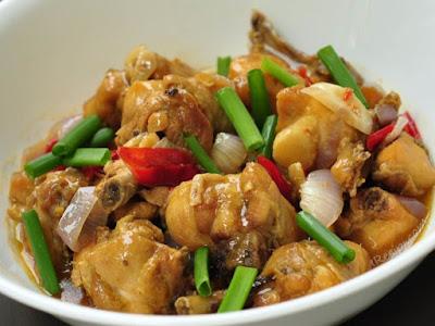 Resepi Ayam Masak Halia Berkuah