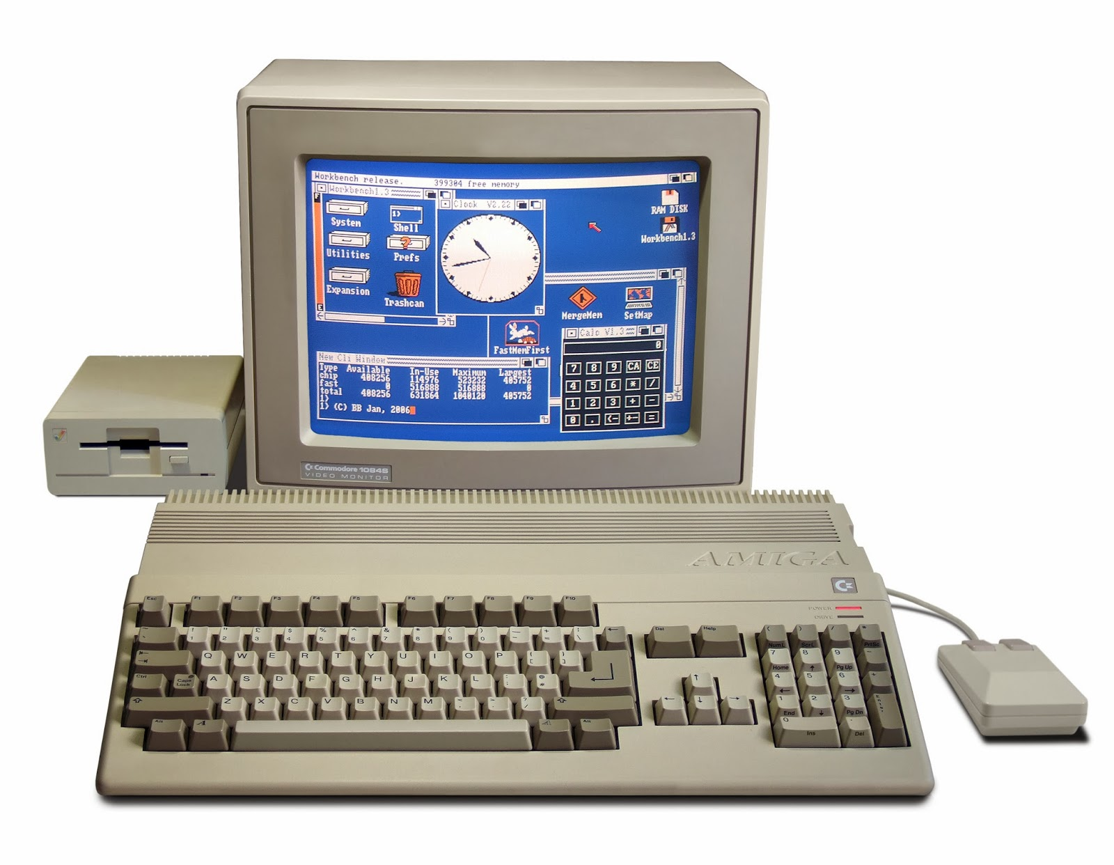 Commodore Computer Blog : Google resuscita l'Amiga 500