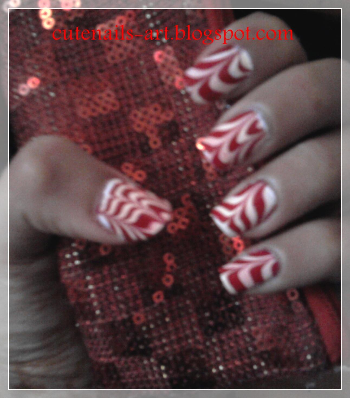 marble nail art-50