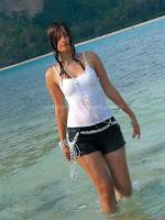 Kaveri, jha, hot, wet, beach, photos