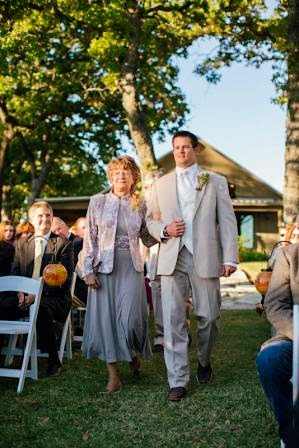 Ryan and Leslie, Seating of Parents, Texas Ranch Wedding