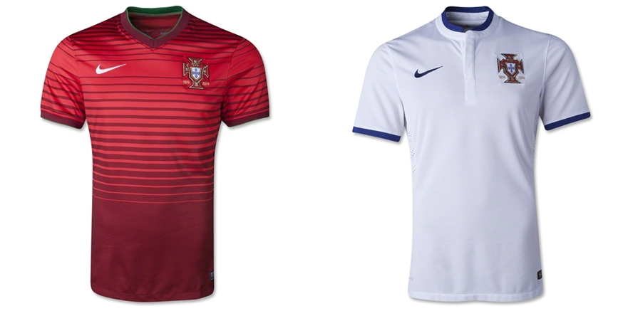 Portugal - Jersey Grade Ori Piala Dunia 2014