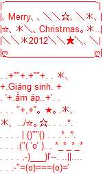sms giang sinh