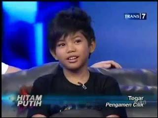 Foto foto penyanyi cilik Tegar Septian Inbox SCTV: