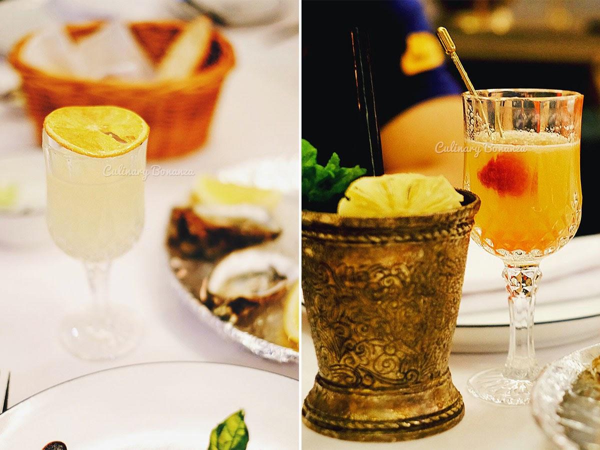 Cocktails at The Prohibition Chophouse & Speakeasy Bar Jakarta (www.culinarybonanza.com)