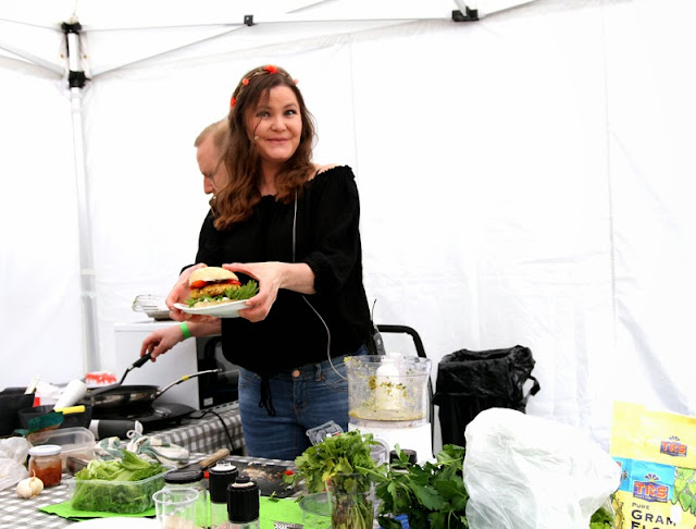 Oslo Vegetarfestival 2015 Oppskrift Festivalburger Veganmisjonen Veganmannen Veganplan