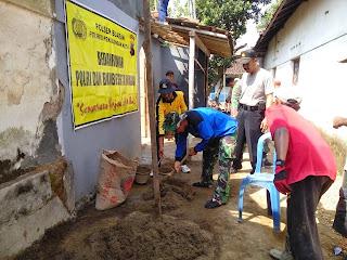 Polisi Dan TNI Garap Rumah Warga Bligo