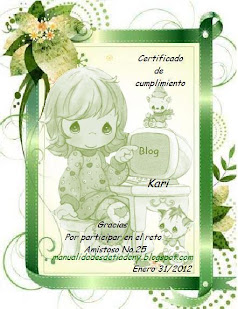 Certificado RETO AMISTOSO Nº 25