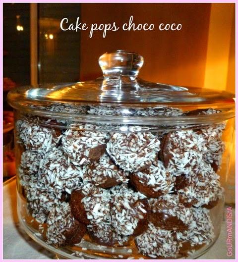 image Cake pops choco - coco