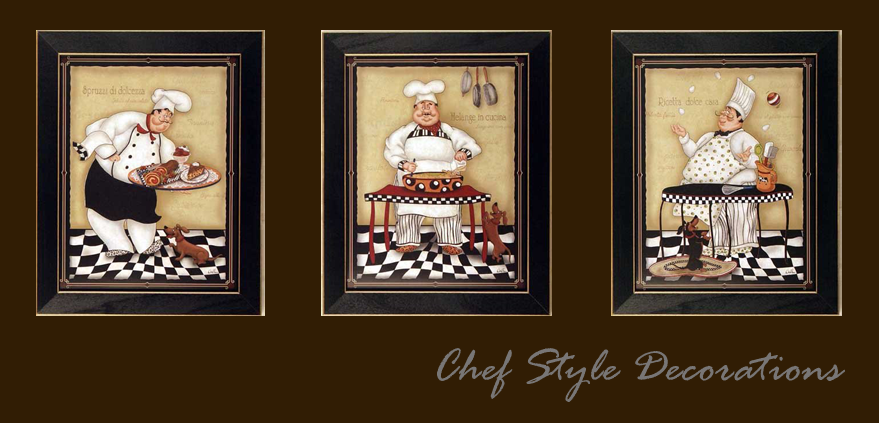 Chef Style Decorations