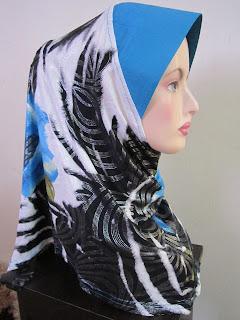 Tudung Ala Ariani turquoise