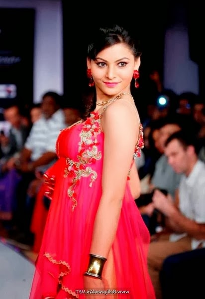Indian Model in Pink Outfit