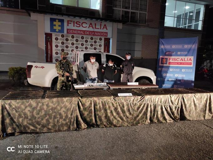 Asegurados en centro carcelario dos escoltas de la UNP por porte ilegal de municiones y por intento de soborno