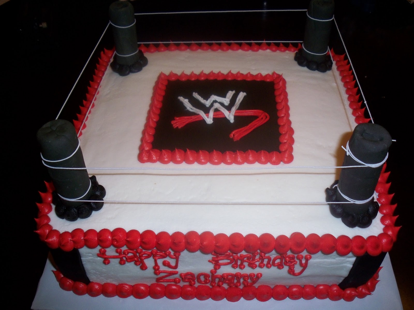 Wrestling Birthday Cake Toppers