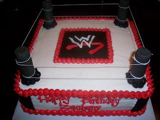 Wwe Birthday Cakes At Walmart