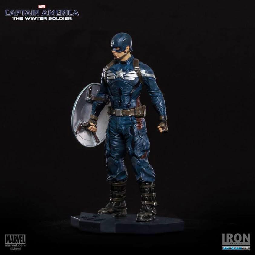 Estátua Capitão América O Soldado Invernal