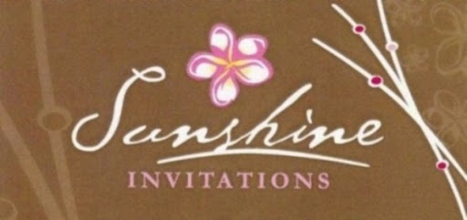 Sunshine Invitations & Bonbonniere