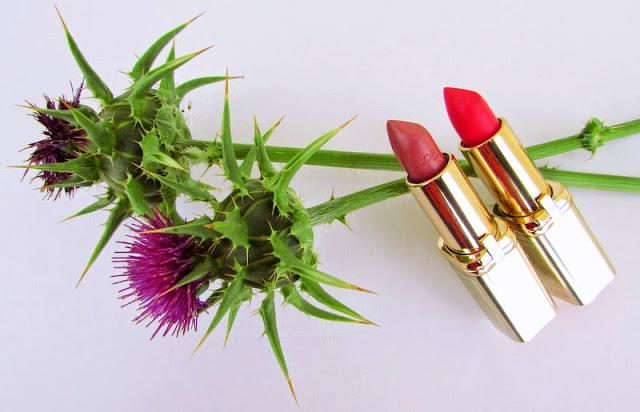 Помады L'Oreal Color Riche Lipstick в оттенках 228 VIP и 632 Greige Amoureux