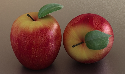 apple free 3ds max model3d chef 39 sfree 3d model. Black Bedroom Furniture Sets. Home Design Ideas