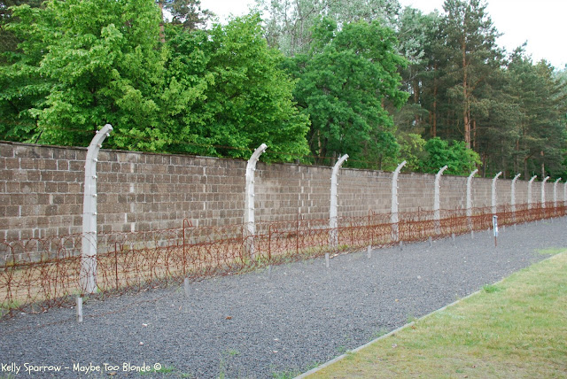 fence Sachsenhausen Concentration Camp, Germany