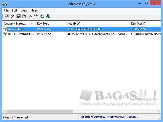 WirelessKeyView 1.61