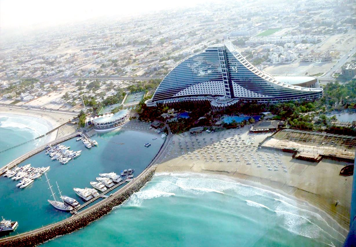 Holiday places for Dubai famous hotel
