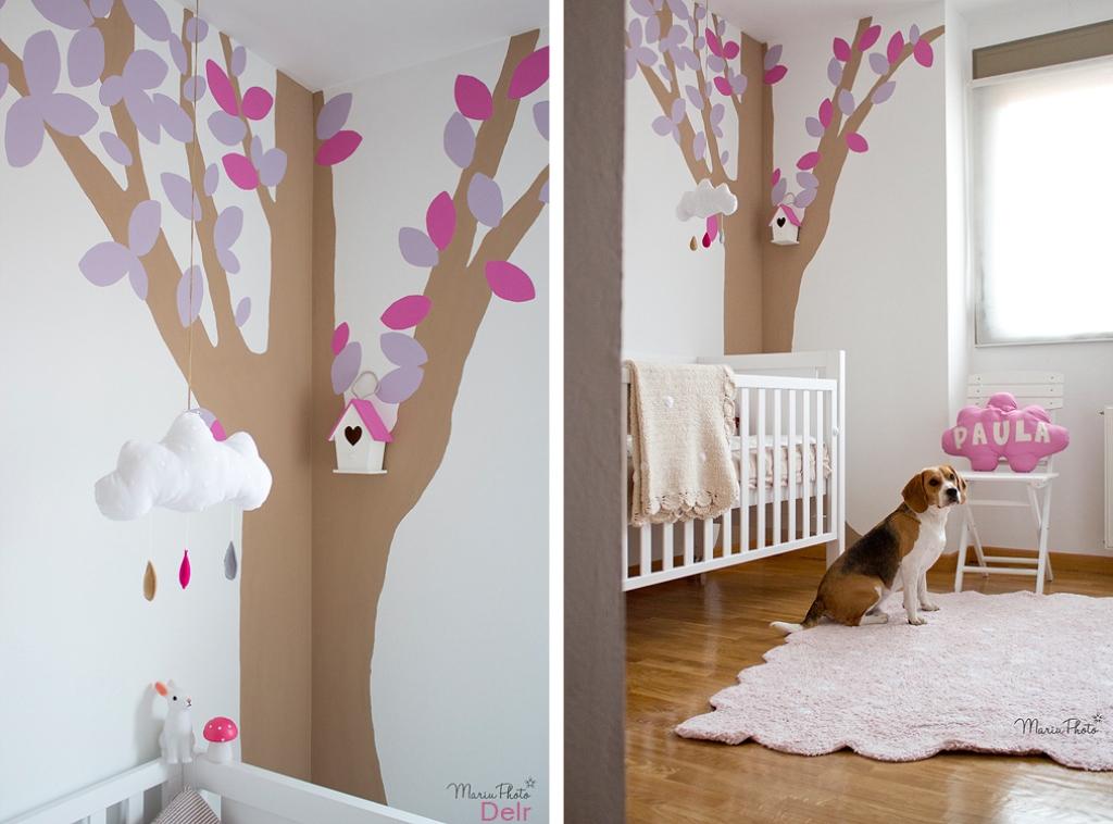 M nica diago un mural para una habitaci n infantil decoraci n para ni os - Mural habitacion infantil ...