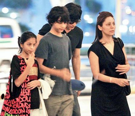 foto shahrukh khan dan keluarga 6 foto shahrukh khan dan
