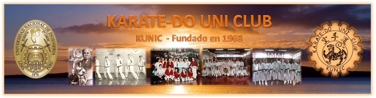 CLUB DE KARATE-DO DE LA UNIVERSIDAD NACIONAL DE INGENIERIA  - KUNIC1968