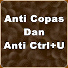Anti Copas dan anti ctrl+u
