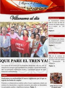 "Revista de información local ""Villanueva al día"""