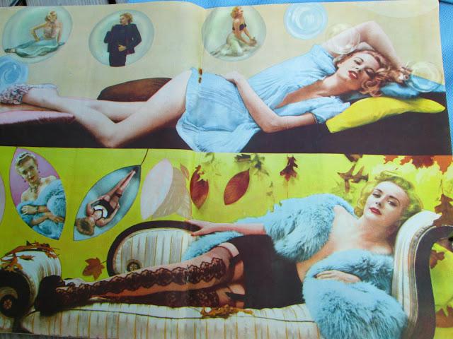 1950's pin up magazine men's porn