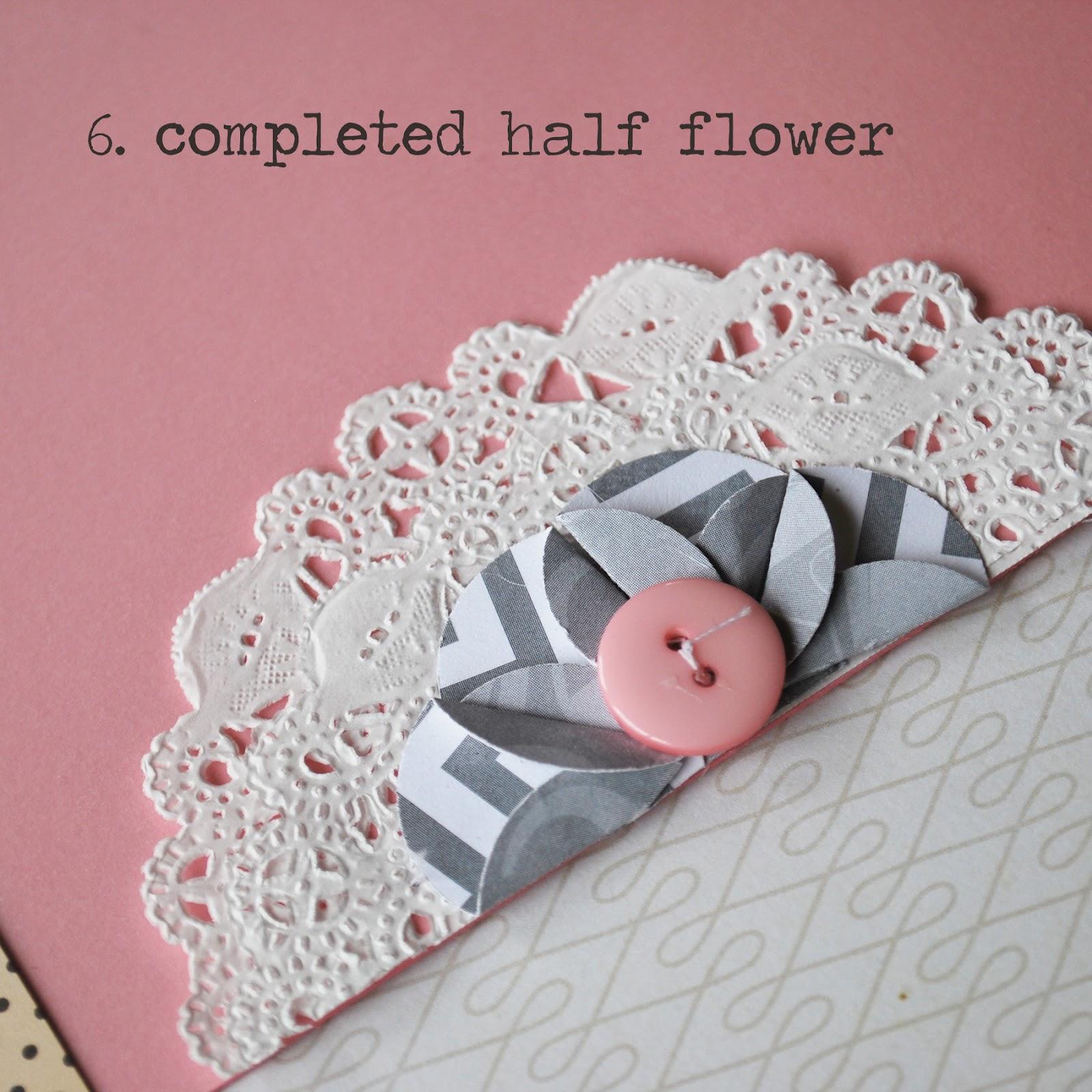 Wip Blog Paper Flower Tutorial