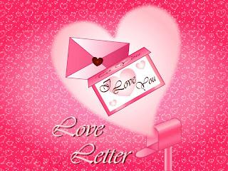 Lettre d'amour pour elle 1