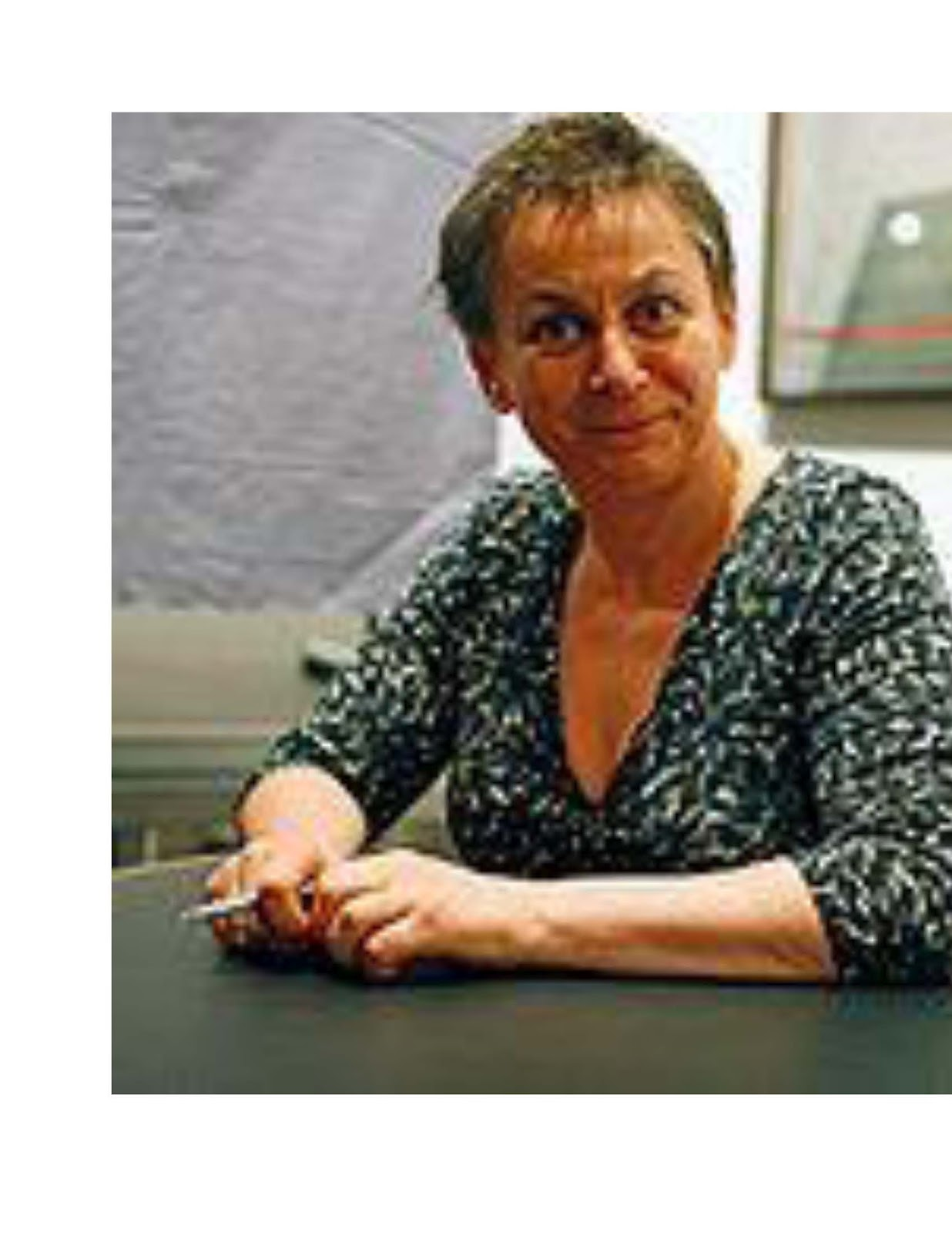 in the bed department by anne enright essay Analysis/opinion: the green road by anne enright norton, $2695, 310  pages sitting in the family home, writing christmas cards to.