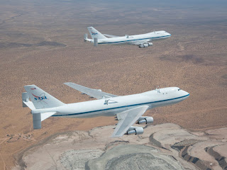 NASA's Shuttle carrier aircraft905 and 911